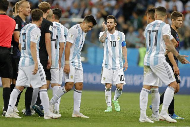 Arjantin'de deprem! Futbolcular toplandı ve Sampaoli'nin maça çıkmamasını istedi! - Arjantin Milli Takımı Dünya Kupası kadrosu