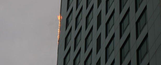 İstanbul Maslak'ta bir gökdelende yangın çıktı! İtfaiye müdahale ediyor