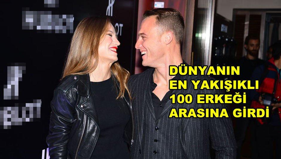 Serenay Sarıkaya, Kerem Bürsin'in dünyanın en yakışıklı 100 erkeği arasında gösterilmesine 'Gurur verici' yorumunu yaptı