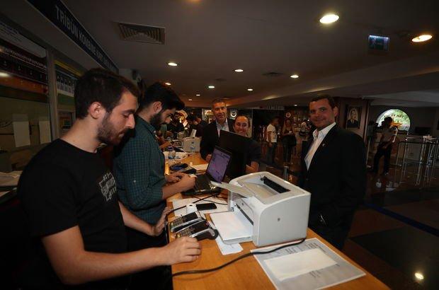 Yöneticilerden kombine kart merkezine ziyaret