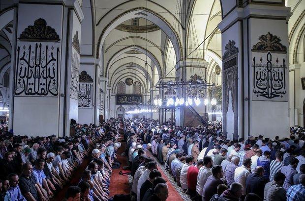 Bursa Cuma saati - 22 Haziran Bursa'da Cuma namazı saat kaçta?