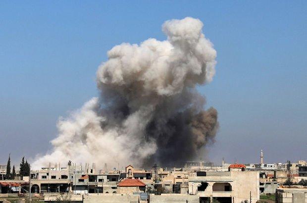 Esad rejiminden Dera'ya 1 günde 750 saldırı!