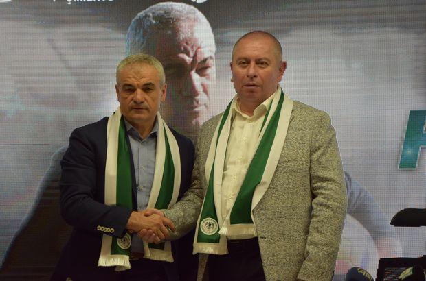 Konyaspor, Rıza Çalımbay ile 2 yıllığına anlaştı