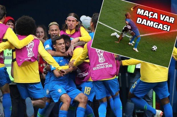 Brezilya Kosta Rika MAÇ ÖZETİ VE SONUCU   90+samba!