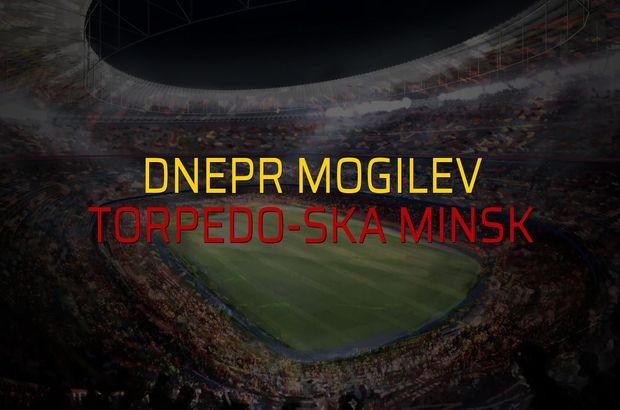 Dnepr Mogilev - Torpedo-SKA Minsk maçı istatistikleri