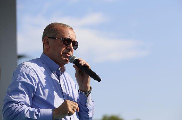 Erdoğan'dan taksicilere: Sizlerden ricam...