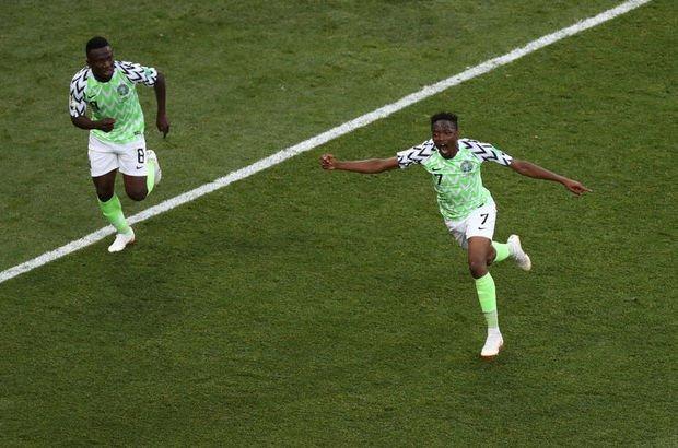 Ahmed Musa böyle istedi! Nijerya: 2 - İzlanda: 0 | MAÇ SONUCU ve ÖZETİ!