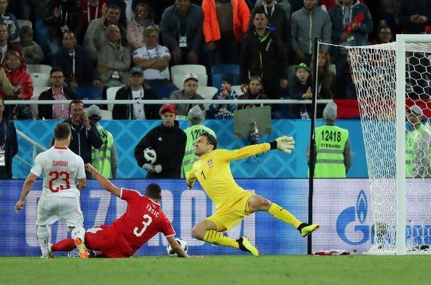 Sırbistan İsviçre maçı özeti ve sonucu! Shaqiri son dakikada yıktı!