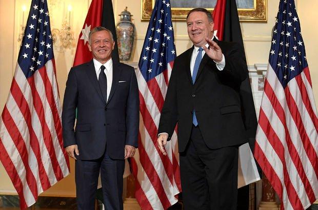 ABD Dışişleri Bakanı Pompeo, Ürdün Kralı Abdullah ile görüştü