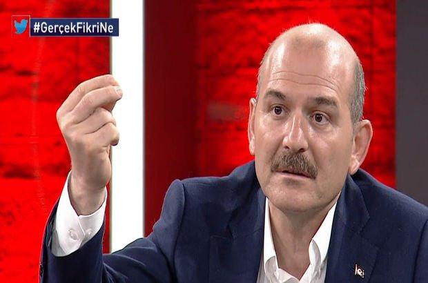 İçişleri Bakanı Süleyman Soylu Habertürk TV'de soruları yanıtladı