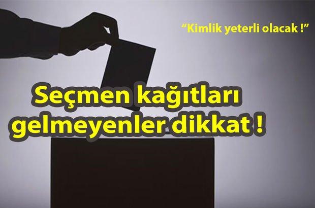 Nerede oy kullanacağım? YSK seçmen sorgulama sistemi için tıkla! 24 Haziran 2018