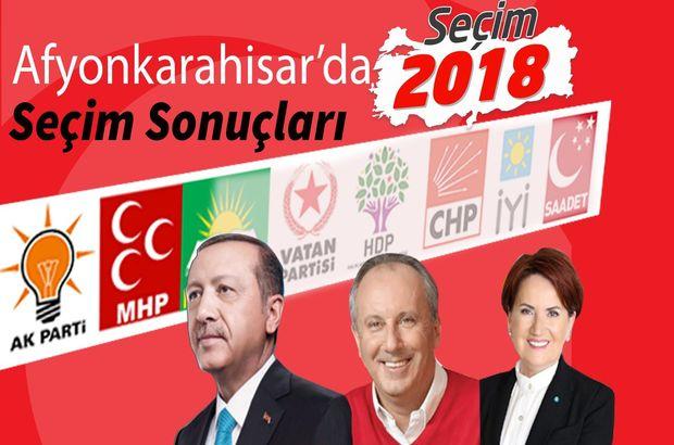 2018 Afyonkarahisar seçim sonuçları: Afyonkarahisar Cumhurbaşkanlığı seçim sonuçları ve oy oranları (24 Haziran)