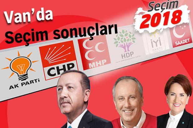 2018 Van seçim sonuçları: Van Cumhurbaşkanlığı seçim sonuçları ve oy oranları (24 Haziran)