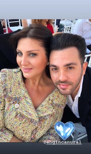 Sibel Can'ın oğlu Emir Aksüt mezun oldu - Magazin haberleri