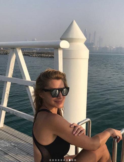 Zeynep Mansur tatilde - Magazin haberleri