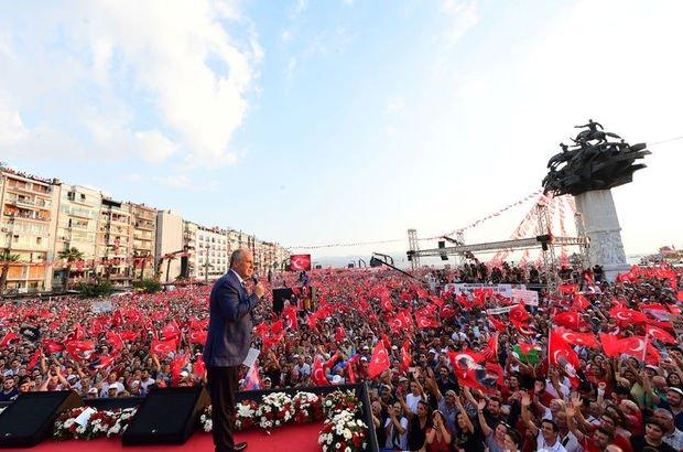 İzmir'de 2.5 milyon kişiye teşekkür