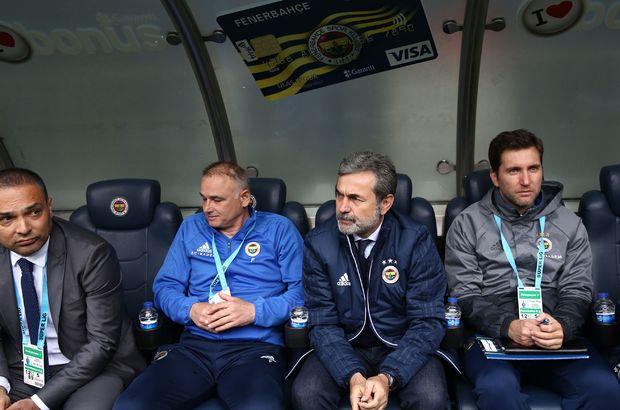 Aykut Kocaman'ın ekibi Fenerbahçe'de kaldı