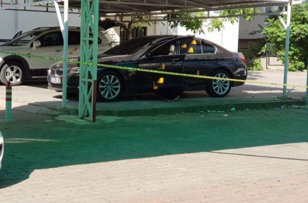 Son dakika! Antalya'da park halindeki lüks otomobile silahlı saldırı