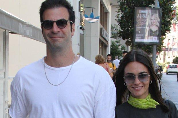 Hande Soral ile İsmail Demirci'nin el ele alışveriş keyfi - Magazin haberleri