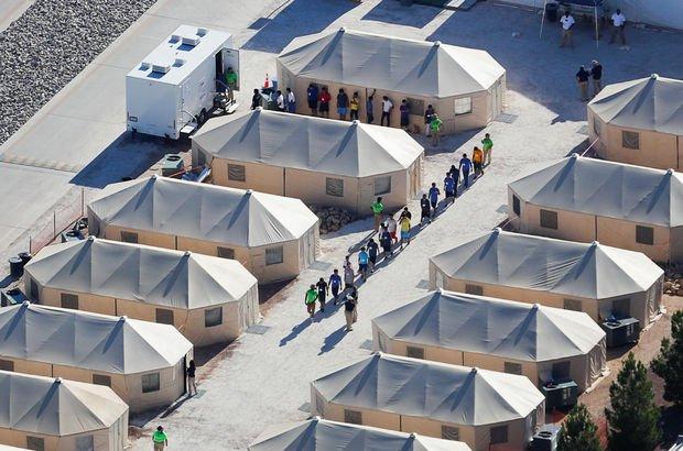 ABD Donanması askeri üslerde göçmen kampları inşa edecek