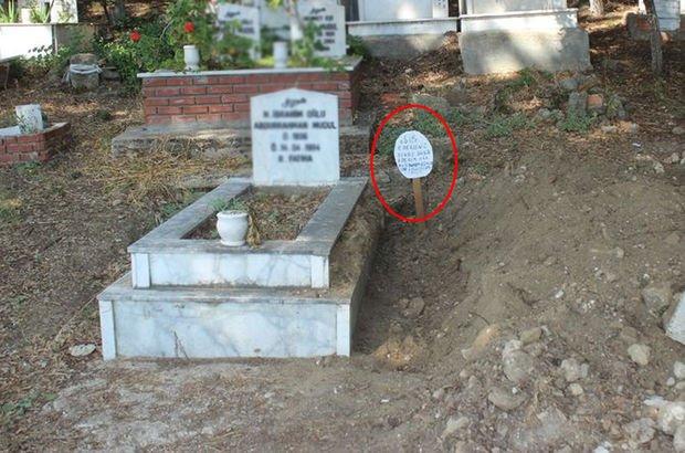 Mezarlıkta tüyler ürperten olay!
