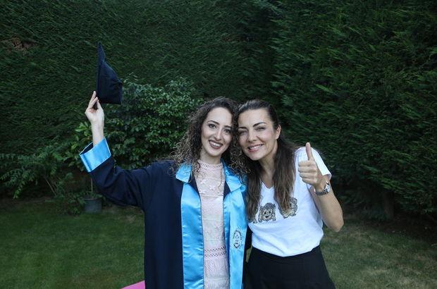 Burcu Kara'dan üniversiteli gence mezuniyet desteği - Magazin haberleri