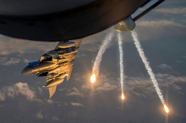 Terör örgütü DEAŞ liderlerinin toplantısına hava saldırısı: 45 ölü!
