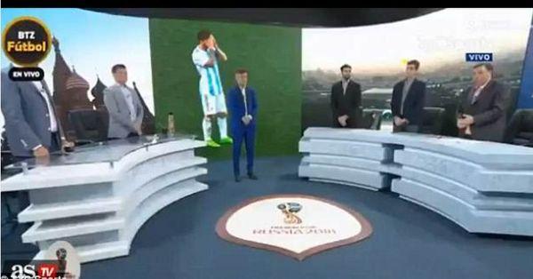 Arjantin'de 1 dakikalık saygı duruşu yapıldı