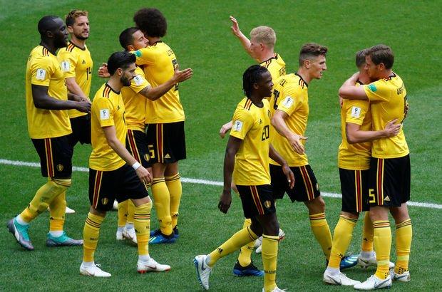 Belçika Tunus maç sonucu ve özeti! Belçika gol oldu yağdı! Hazard, Lukaku...