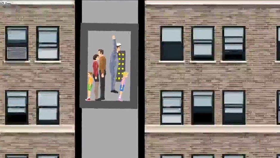 Düşen asansörden nasıl kurtulunur?