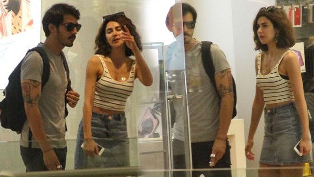 Nesrin Cavadzade basından köşe bucak kaçırdığı sevgilisiyle görüntülendi - Magazin haberleri