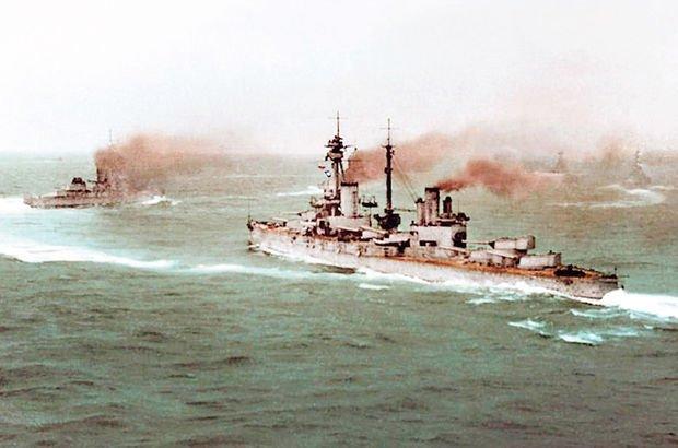 İngilizler 104 yıl önce parasını ödediğimiz iki gemimizi gasp etti