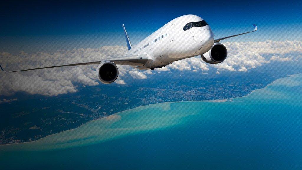 Yeni havalimanında ilk tarifeli uçuş yarışı