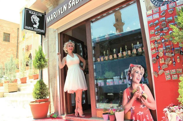Marilyn Monroe Mardinli Marilyn Monroe Melek Akarmut