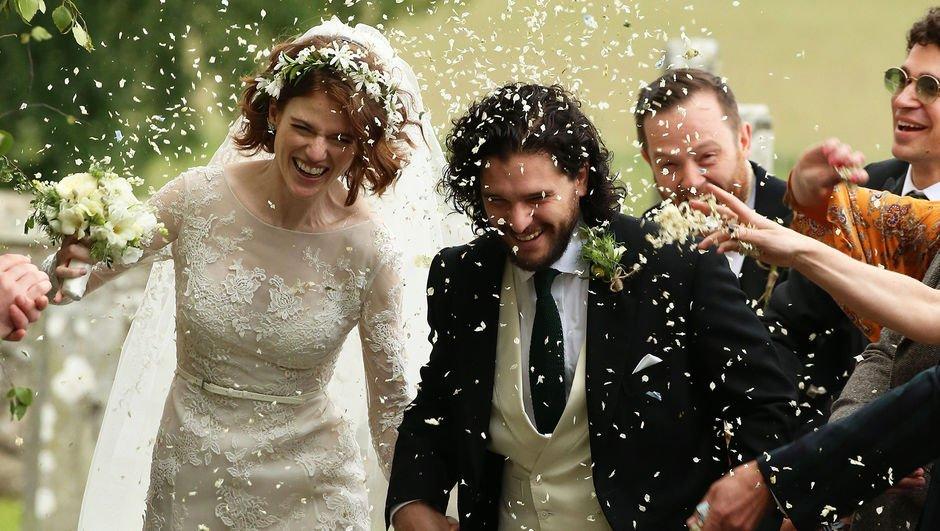 Game of Thrones aşıkları evlendi!