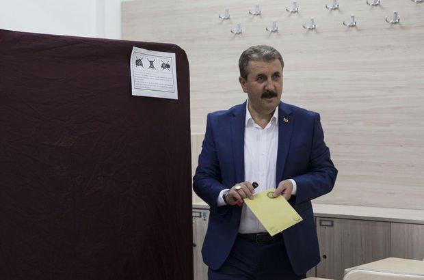 Son dakika... BBP Genel Başkanı Mustafa Destici oyunu kullandı