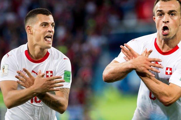 FIFA, Shaqiri ve Xhaka hakkında çift başlı kartal sembolü soruşturması başlattı -