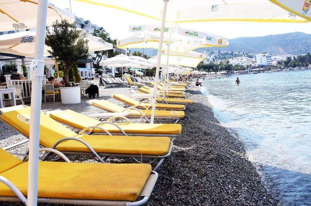 Tatilciler sandığa koştu, sahiller boş kaldı