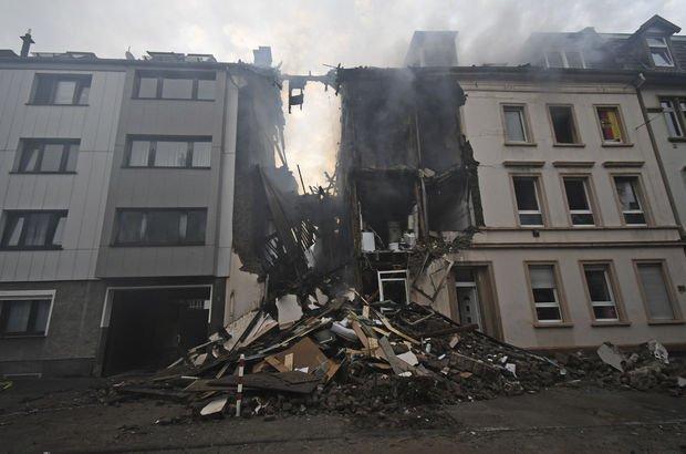 Son dakika... Almanya'da patlama: 25 yaralı!