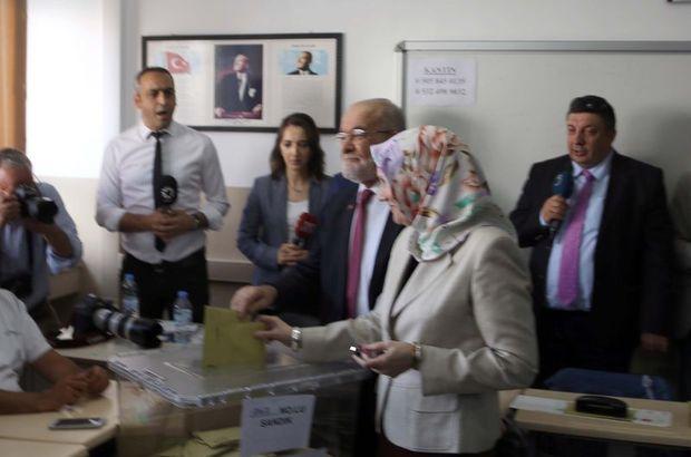 Son dakika: Cumhurbaşkanı adayı Temel Karamollaoğlu oyunu kullanıyor