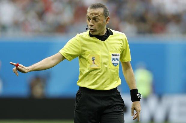 Son dakika! Cüneyt Çakır'a 2018 Dünya Kupası'nda görev