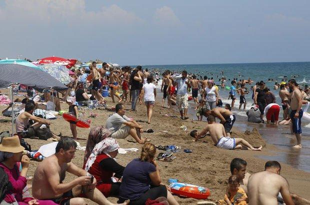 Son dakika... Oyunu kullanan sahile koştu, plajlar doldu taştı