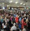 Cumhurbaşkanlığı ve 27. Dönem Milletvekilliği Seçimlerinde oylarını kullanmak isteyen vatandaşlar tatillerini yarıda keserek sandığa koştu. Atatürk Havalimanı