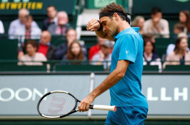 Roger Federer kupaya uzanamadı
