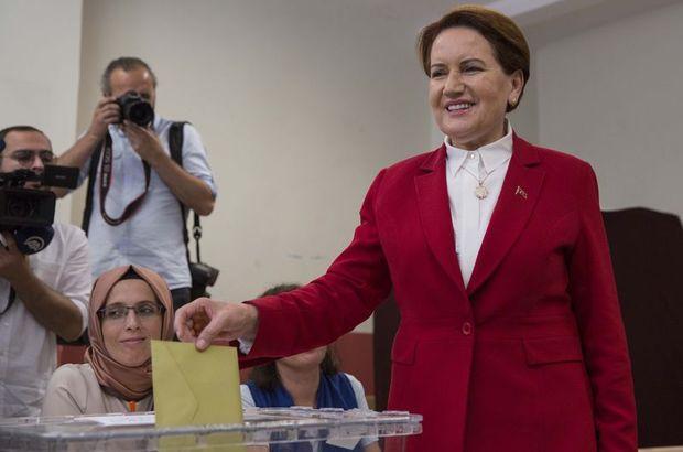 Akşener'den 24 Haziran seçimi ile ilgili ilk açıklama