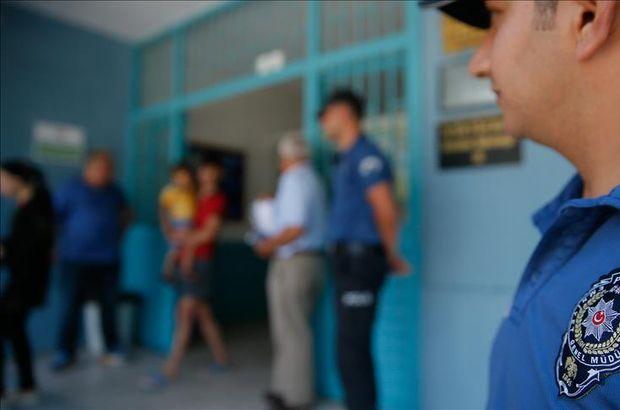 Seçim güvenliği için 264 bin 526 polis görev aldı