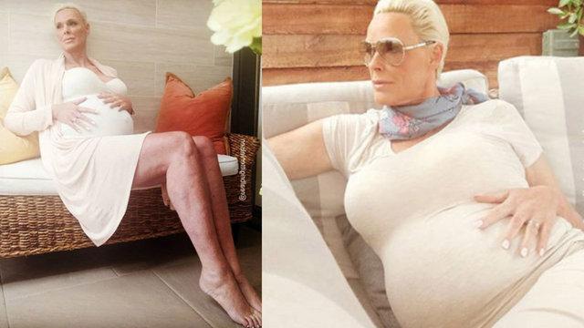 Brigitte Nielsen 54 yaşında anne oldu! - Magazin haberleri