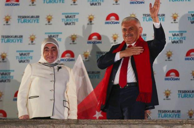 Başbakan Binali Yıldırım: Bu seçimin kaybedeni yok