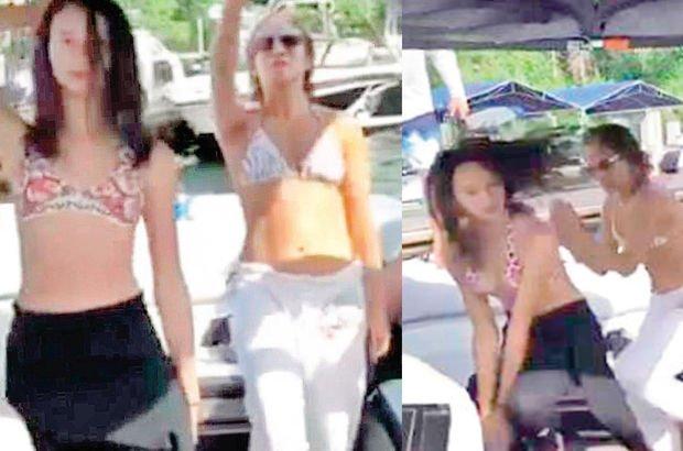 Jennifer Lopez'den üvey kızıyla tatil dansı - Magazin haberleri