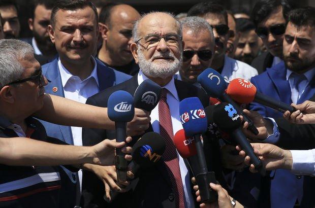 Saadet Partisi Genel Başkanı Karamollaoğlu